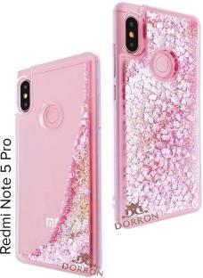 171e0d1004 DORRON Back Cover for Mi Redmi Note 5 Pro Liquid Floating Love Heart ...