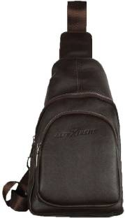 b15460681c1b ... Water Resistant Vintage Carry Cross Body Messenger · AllExtreme PU  Leather Sling Bag Leather Chest Shoulder Backpack W..