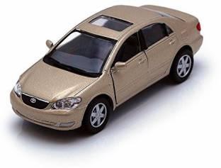 Kinsmart Toyota Corolla, Black - 5099D - 1/36 scale Diecast