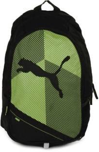 Puma Echo Plus Medium Backpack Navy-White - Price in India ... 5531459fdd62f