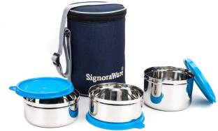 Signoraware 3502 3 Containers Lunch Box
