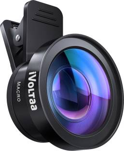 iVoltaa Universal iVMO-2PL Pro-Kit 2 in1 Wide Angle and Macro Mobile Phone Lens