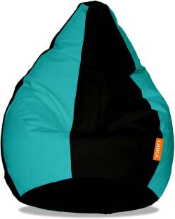 ORKA XXXL Tear Drop Bean Bag Cover  Without Beans