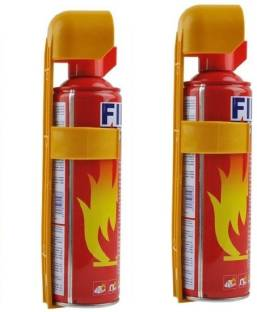 Techista Home and Car Safe 500ML Pack of 2 Fire Extinguisher Mount