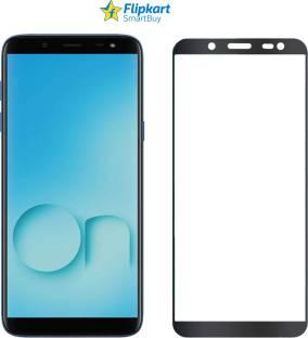 Flipkart SmartBuy Edge To Edge Tempered Glass for Samsung Galaxy J6, Samsung Galaxy On6