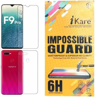 iKare Front and Back Screen Guard for Oppo F9, OPPO F9 Pro