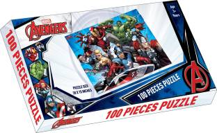 STERLING Marvel Avengers 100 piece Puzzle Strategy & War Games Board Game