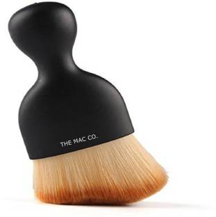 THE MAC CO. Foundation S Shape Makeup Brush For Women & Girls (Pack of