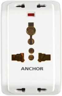 ANCHOR 22841 10 A Three Pin Socket