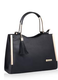 6c898fb2211 Buy Tory Burch Satchel Black Online   Best Price in India