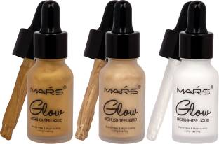 Mars Face Illuminator Makeup Liquid