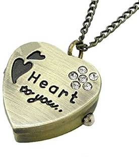 stylish teens gorgeous alphabet s letter heart locket with chain