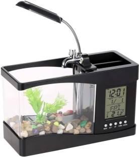 Aquapetzworld 80 Aquarium Fish Tank White 30 L Rectangle Aquarium