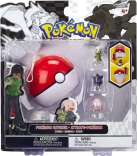 db6ba812 Jakks Pacific Pokemon Black White Series 3 Catcher 3Pack Zorua, Munna Axew