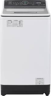 Panasonic 8 kg Fully Automatic Top Load White, Grey