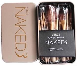 VERGE 12pcs Cosmetic Makeup Brush Set