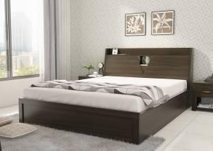 SPACEWOOD Engineered Wood King Hydraulic Bed