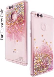 reputable site b527d e8527 DORRON Back Cover for Huawei Honor 7X Glitter Stylish Designer ...