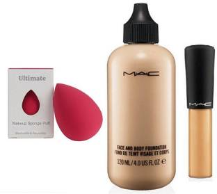 827a223338b Ultimate Sponge Puff, Mac Face And Body Foundation & Mineralize Concealer