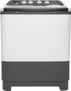 Panasonic 8 kg Semi Automatic Top Load White, Grey