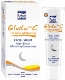 Gluta-C Whitening Facial Repair Night Serum 30ml (imported)