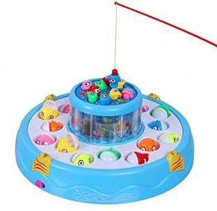 Be you own label Electronic And Rotating With Flashing Gogo Fishing Toy Set For Kids Party & Fun Games Board Game