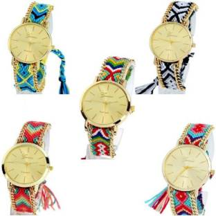 f4ac35063ab9a parekh enterprise new stylish watch combo of 5 watch for girls and women  Watch - For
