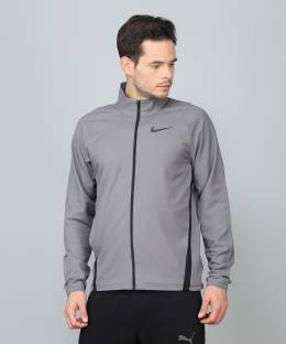 9e43c2e59c197 Nike Sleeveless Solid Men s Quilted Jacket - Buy DK MAGNET GREY ...