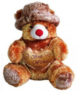 624ad86bc1295 HM Teddy Bear Big Cute Soft Toys With Cap 6 feet For Valentines Gift - 72