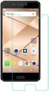 Desirtech Tempered Glass Guard for Micromax Canvas 2 Q4310