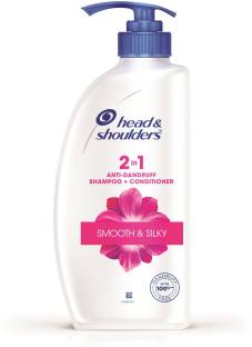 HEAD & SHOULDERS Smooth and Silky 2-in-1 Shampoo Plus Conditioner