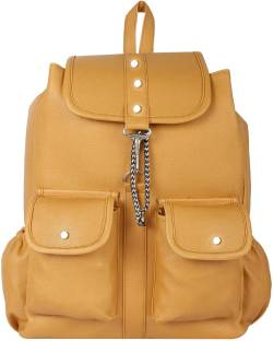 f0728a4a79b6 Deox For College Girl Bagpack bag 3 L Backpack TAN - Price in India ...