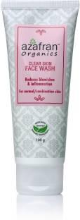 Azafran Organics Clear Skin  Face Wash