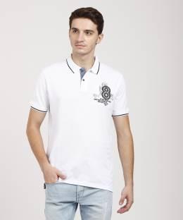 666d740ea Lee Cooper Printed Men's Round Neck White T-Shirt - Buy OFF WHITE ...