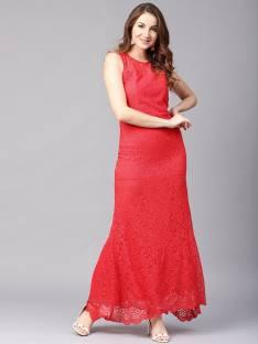 b28b68dfa Latin Quarters Women's A-line Pink, Black Dress - Buy FUSCHIA Latin ...