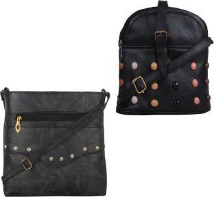 56c92d56297f Buy Vera Bradley Sling Bag Black Online   Best Price in India ...