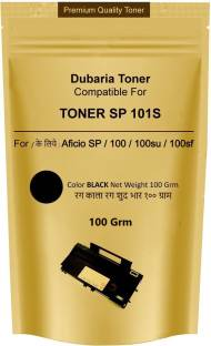 Dubaria SP 101S Laser Printer Toner Powder Refill Pouch Compatible For Use In Ricoh SP100 / SP111 / SP111SU / SP200 / SP210 / SP210SU / SP 212Nw / SP 212SNw / SP 212SFNw / SP300 / SP 300DN / SP 310DN / SP 310SFN / SP 325Sfnw / SP 3400 / SP 3410 / SP 3500SF / SP 3510DN / SP 3510SF / SP 3600SF / SP 313DNwV / SP 313SFNwV / SP 3600 DN / SP 4310N / SP 4510 DN / SP 4520DN / SP 5300DN / SP 5210SF / SP 5310DN / SP 6430DNPrinters - 100 Grams Black Ink Toner