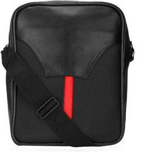 Puma Men   Women Casual Black PU Sling Bag Black - Price in India ... d3a8d5ec6b6df
