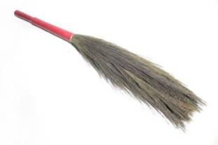 CHAND SURAJ Broomstick Dusting Mop Floor Cleaner Jhadu Wooden Dry