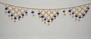085d2615166 ONRR Toran Jhalar and fummar design blue coloured bandhan-baandh .