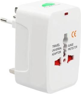 Smacc Universal All in One World Travel Power Adapter Surge Protector Charger Plug AU UK US EU Plug Worldwide Adaptor
