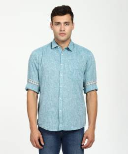 6056cdf8 BRULE Men's Solid Casual regular Shirt - Buy LIGHT GREEN BRULE Men's ...