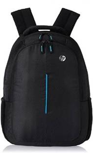 e7704b9c04fa HP 15.6 inch Expandable 20 L Laptop Backpack (Black) Waterproof School Bag