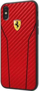 huge discount 9e240 cf8cb Ferrari Back Cover for Apple iPhone X - Ferrari : Flipkart.com