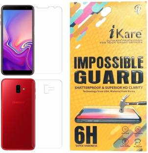 iKare Front and Back Screen Guard for Samsung Galaxy J6 Plus