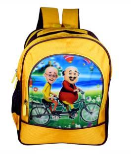Tinytot Motu Patlu Waterproof School Bag 56bd0b15c0792