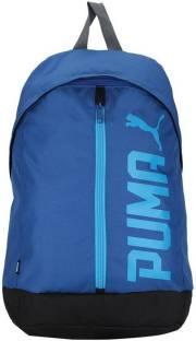 Puma Puma BMW Motorsport 27 L Laptop Backpack (white-bmw team blue ... 5e0fdcf2de416