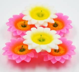 MEYOU Decorative Designer Wax Candles Diya For Diwali Handicraft Diyas And Candals