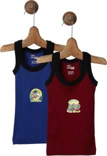 Rupa Frontline Kids Vest For Boys Cotton Blend