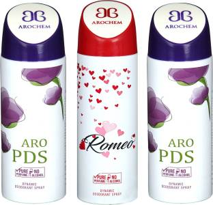 0c11ed32f275 arochem ARO PDS-2   ROMEO DEO COMBO DYNAMIC DEODORANT SPRAY Body Spray Body  Spray